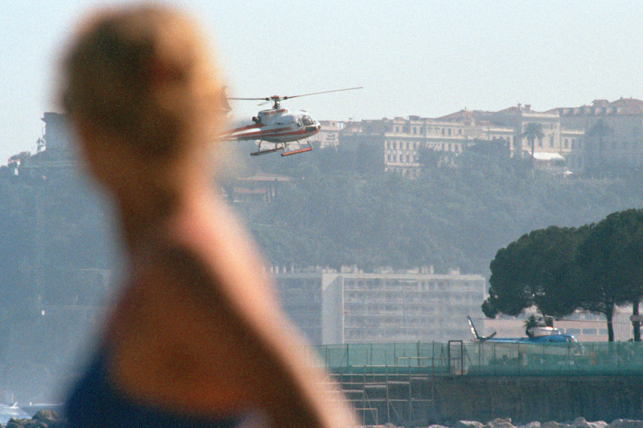 Helicoter Landing in Monte Carlo